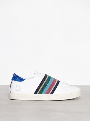 D.A.T.E. Sneakers Hill Low Pop Elastic Vit
