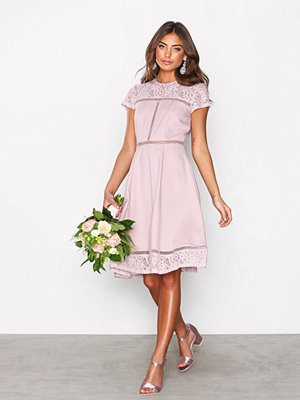 NLY Eve Skater Trim Dress Lila