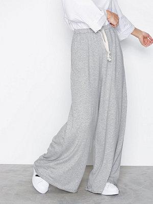 American Vintage byxor Pantalon Grey Melange