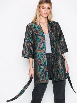Y.a.s Yasromi Kimono Mörk turkos