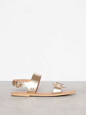 Love Moschino Gold Sandal Guld