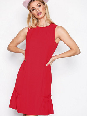 MICHAEL Michael Kors Sleeveless Ruffle Dress True Red