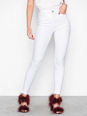 Topshop White Jamie Jeans White