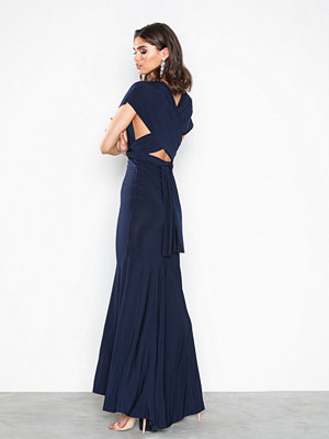 NLY Eve Multiwrap Gown Navy