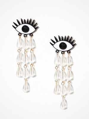 WOS örhängen Cry Baby Earrings Svart/Vit