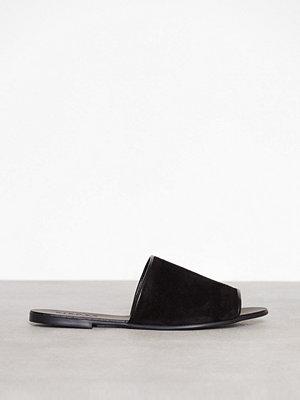 Sandaler & sandaletter - Pieces Psmunro Suede Sandal Svart