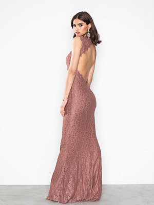 NLY Eve Mermaid Lace Gown Rose