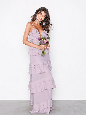 True Decadence Frill Dress Dusty