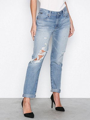Polo Ralph Lauren Astor Slim Boyfriend Relaxed Jeans Blue