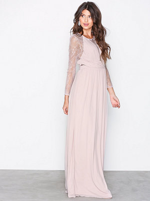 TFNC Fable Maxi Dress Mink