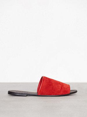 Sandaler & sandaletter - Pieces Psmunro Suede Sandal Mörk Röd
