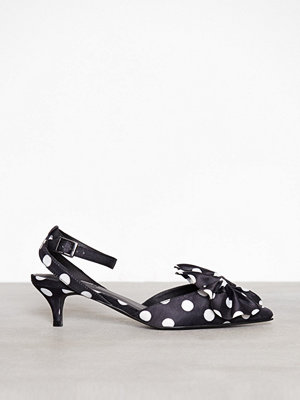 Pumps & klackskor - NLY Shoes Bow Pump Svart