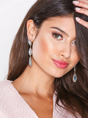 New Look örhängen Teardrop Chandelier Earrings White