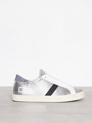Sneakers & streetskor - D.A.T.E. Sneakers Hill Low Pong Laminated Silver Silver