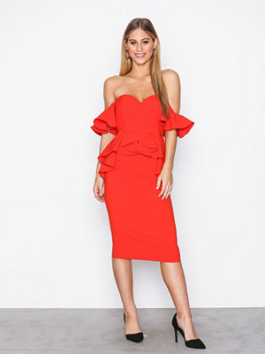 River Island Honey Dress Red