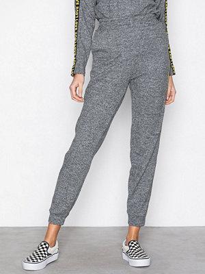 Sisters Point grå byxor Vitus-PA Pants Grey Melange