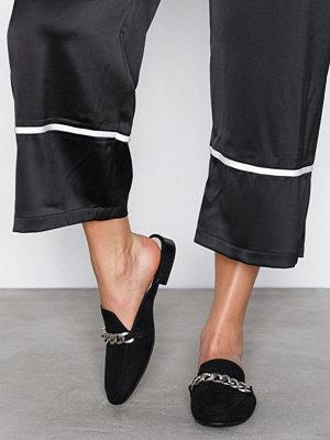 Tygskor & lågskor - NLY Shoes Chain Loafer Svart
