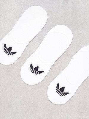 Strumpor - Adidas Originals No Show Sock 3P Vit/Svart