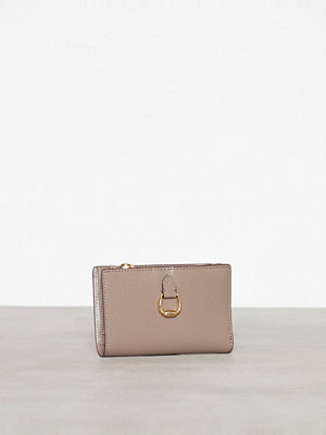 Lauren Ralph Lauren New Compact Wallet Small Taupe