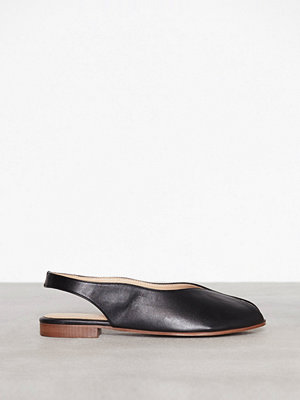 Topshop Oracle Slingback Shoes Black