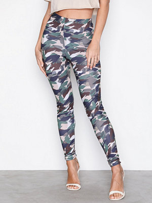 Leggings & tights - NLY Trend Camo leggings Camo