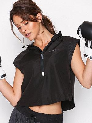 Sportkläder - Craft Eaze SS Hood Jacket Svart