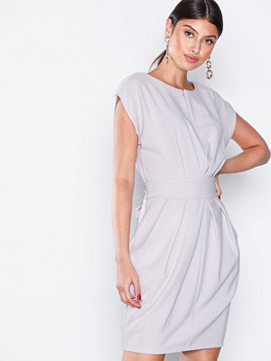 Closet Marked Waist Mini Dress Grey