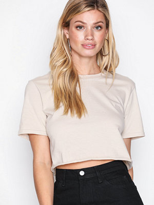 NLY Trend Cropped Tee Beige