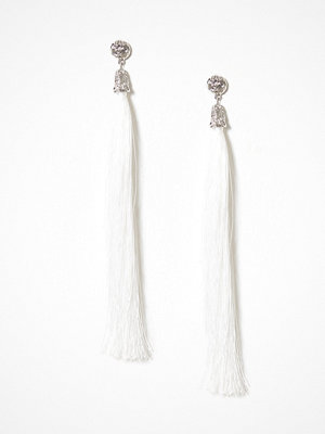 NLY Accessories örhängen Long Tassel Earrings Vit