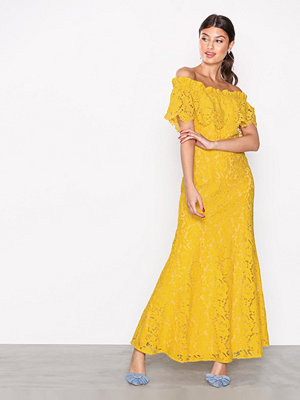 By Malina Serafina Maxi Dress Lemon