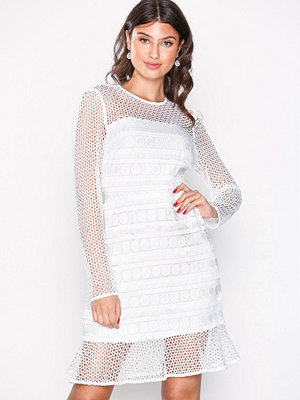 River Island Genevieve Lace Dress Ivory