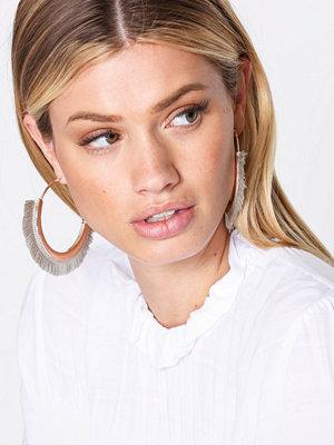 NLY Accessories örhängen Tassel Hoops Grå