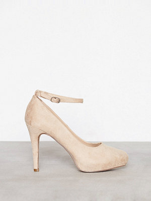 Pumps & klackskor - Duffy Party Heel Beige