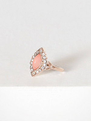 NLY Accessories Vintage Ring Dusty Pink