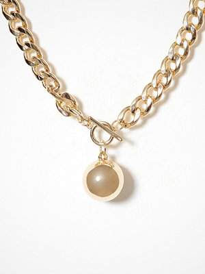 NLY Accessories halsband Chunky Chain Guld