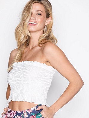 NLY Trend Smock Tube Top Vit