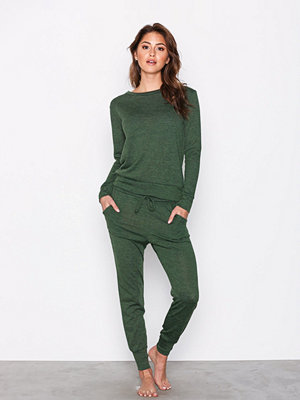 Pyjamas & myskläder - Missguided Lounge Tracksuit Khaki
