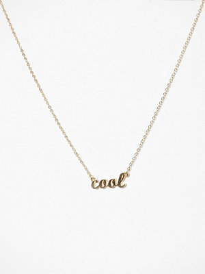 Pieces halsband Pcmila Necklace Guld