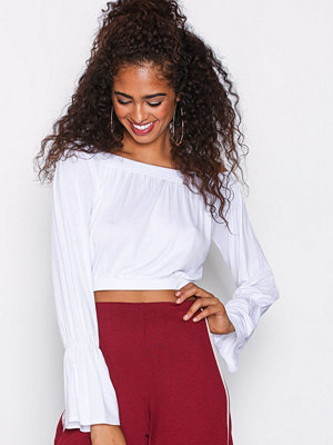 NLY Trend Off Shoulder LS Top Vit