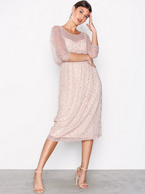 Vila Vikyle Long 3/4 Dress 35 Peach