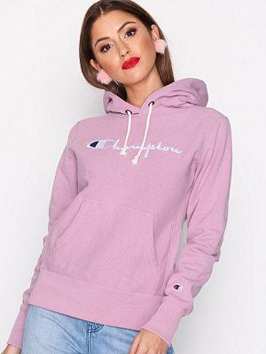 Street & luvtröjor - Champion Hooded Sweatshirt Mauve Mistress