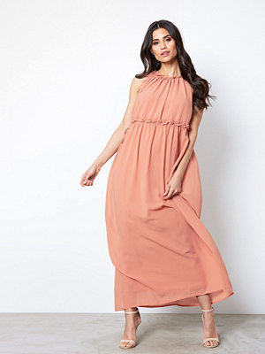 Only onlCEREMONY Halterneck Long Dress W Rosa