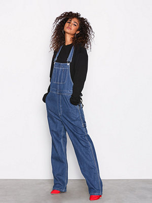 Sweet Sktbs Sweet Dungaree Pants Blå