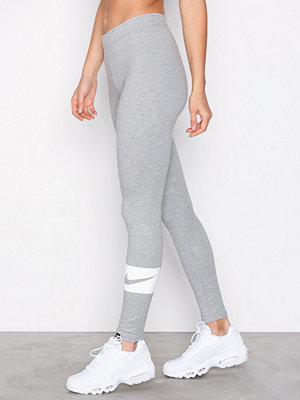 Nike NSW Legging Club Swosh Grå