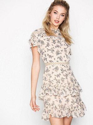Glamorous Floral Flounce Dress Floral