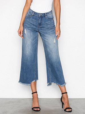 Vero Moda Vmlala Hw Boxy Ankle Jeans GU537 Ljus Blå