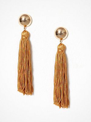 New Look örhängen Tassel Drop Earrings Mustard