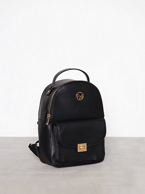 NYPD svart ryggsäck Backpack Alicante Black