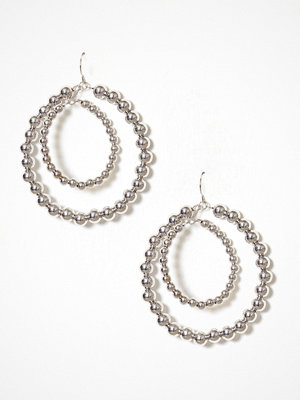 Pieces örhängen Pcdelayla Hoop Earrings Pb Silver