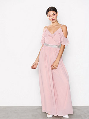 TFNC Vivienne Jumpsuit Pearl Pink